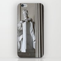 lincoln iPhone & iPod Skins featuring Lincoln.  by Jeska Speck