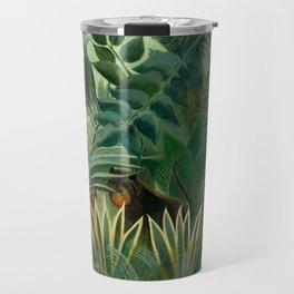 "Henri Rousseau ""The Equatorial Jungle"" Travel Mug"