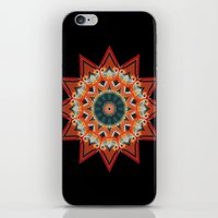 southwest iPhone & iPod Skins featuring Southwest Kaleidoscope  by North 10 Creations