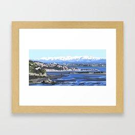 Christchurch City Framed Art Print