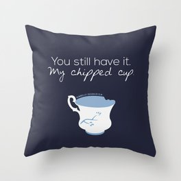 Rumbelle Quote (OUAT) Throw Pillow