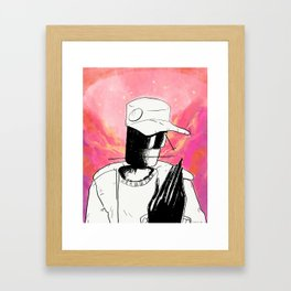 Ants vol. 2 - If You're Reading This It's Not a Coloring Book cover Framed Art Print