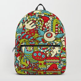 Monsters Party Backpack