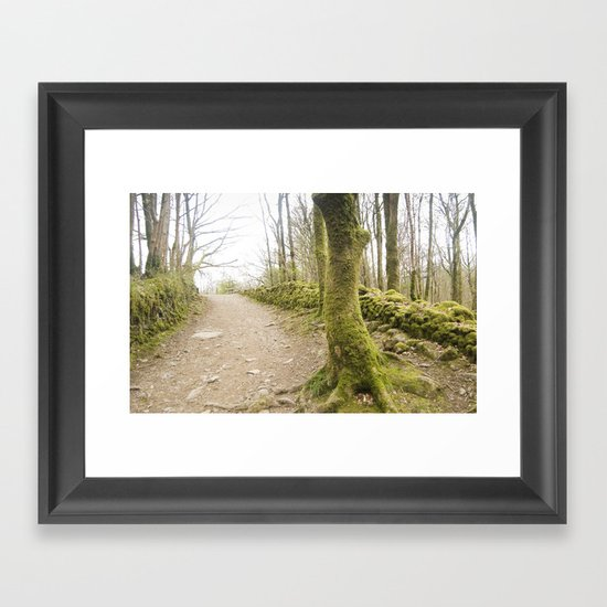 Moss Framed Art Print