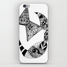 Rhino Horn iPhone & iPod Skin