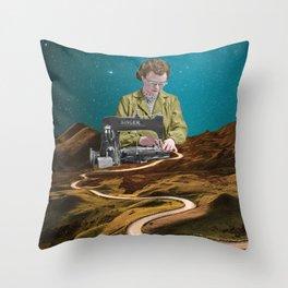 Repair Throw Pillow