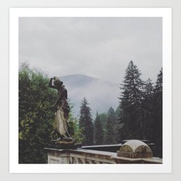 In The Mists of Romania Art Print