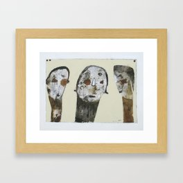 Sad Usie Framed Art Print