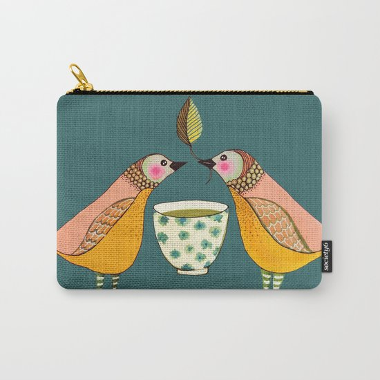 a tea for two Carry-All Pouch