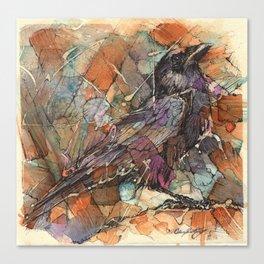 """Crow #2"" Canvas Print"