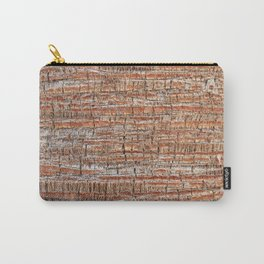 Palm Bark Pattern Carry-All Pouch