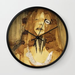 she was here Wall Clock