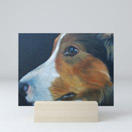 Sheltie Shetland Sheepdog Art Mini Art Print