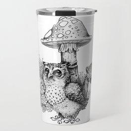 Mushroom Baby Travel Mug
