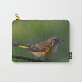 A Female American Redstart 2 Carry-All Pouch