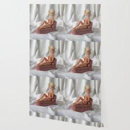 A Pink Chaise Longue Wallpaper