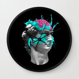 Dave Brain Wall Clock