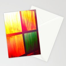 Stain Glass Stationery Cards