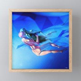 Zero Gravity Framed Mini Art Print