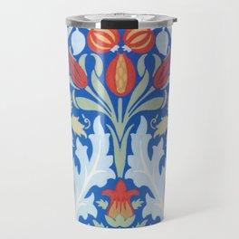 12,000pixel-500dpi - William Morris - Autumn Flowers - Digital Remastered Edition Travel Mug