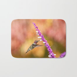 Magical Autumn Anna's Hummingbird Bath Mat