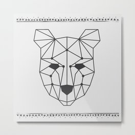 Totem Festival 2015 - Black & White Metal Print