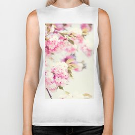 Cherry Blossoms Biker Tank