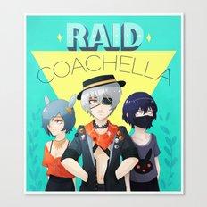 Raid Coachella Canvas Print