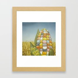 Have a Corny Time Framed Art Print