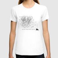 motorbike T-shirts featuring Motorbike diagram by GO-BIKE-GO