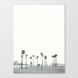 Bleached Beach Canvas Print
