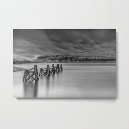 Dramatic Skies Over Cardiff Bay Metal Print