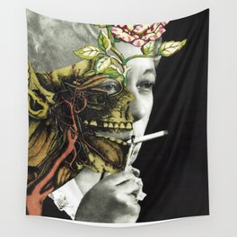 VERTICAL EXTENT Wall Tapestry