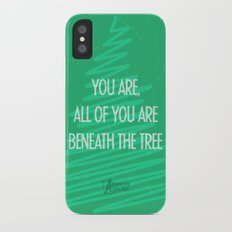 Beneath the tree Slim Case iPhone X