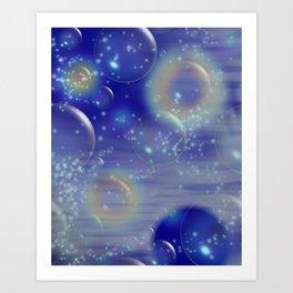 """"""" Ocean Bubbles"""" Art Print"""