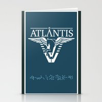 stargate Stationery Cards featuring Stargate Atlantis by Winter Graphics