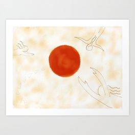 Dream Fragments Art Print