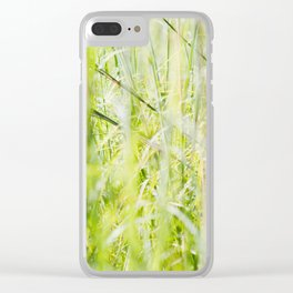 Under Our Feet Clear iPhone Case