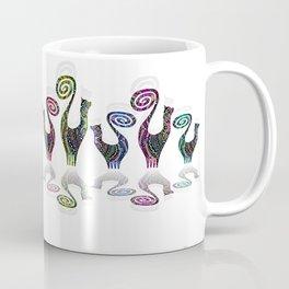 SNOOTY RAINBOW LINE DANCE Coffee Mug