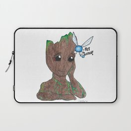 Tree and fairy Laptop Sleeve