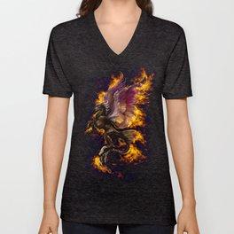 Phoenix Reborn Unisex V-Neck