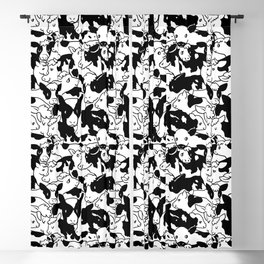 Oh Cows Blackout Curtain