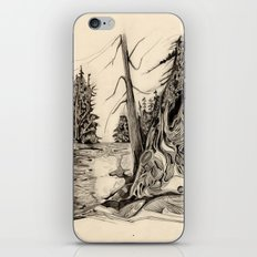 By The Lake iPhone Skin