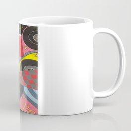GraphicMusicAndMemorabiliaCollage Coffee Mug