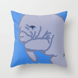 Manatee Must consider this.... Throw Pillow
