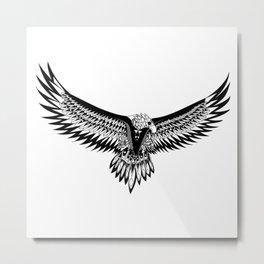 Wild eagle ecopop Metal Print
