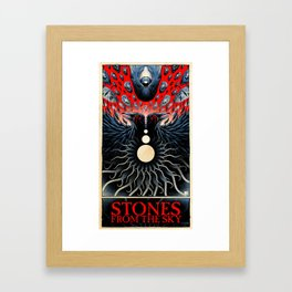 Stones from the Sky (color) Framed Art Print