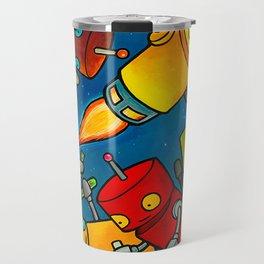 Robot - Robot Party 2 (Zero Gravity) Travel Mug