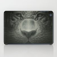 tiger iPad Cases featuring Tiger by Dr. Lukas Brezak