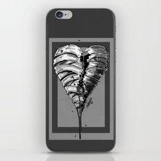Razor Blade Romance (Black and White Version) iPhone & iPod Skin
